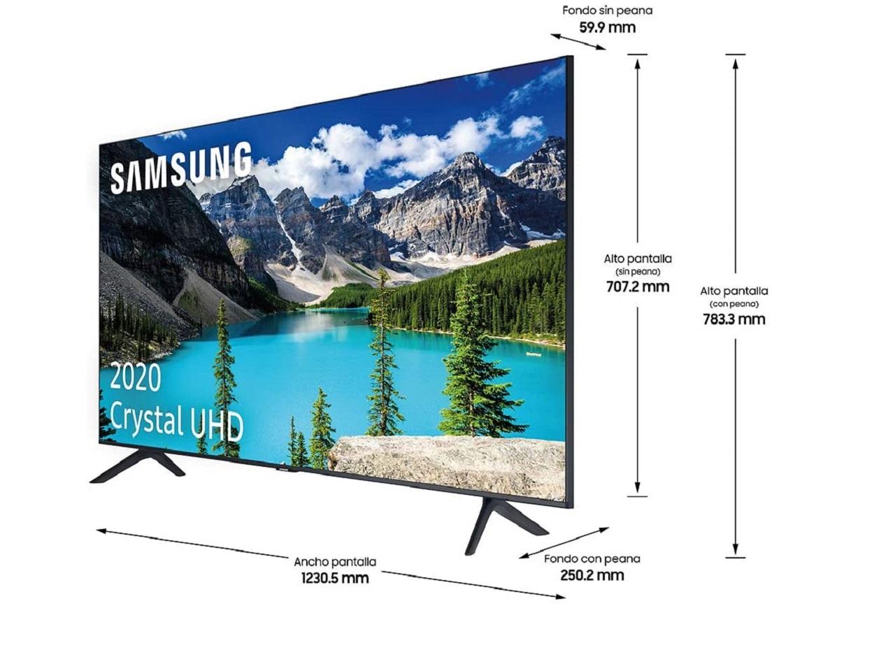 Samsung Crystal UHD 2020 55TU8005