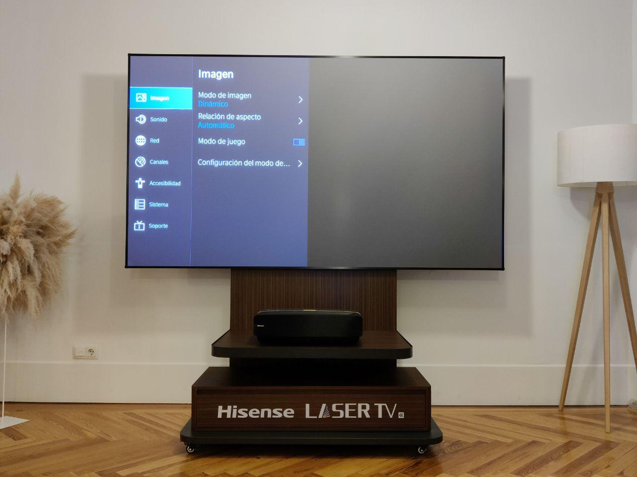 Hisense Laser TV 100L5F-A12